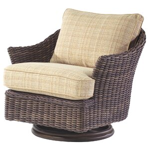 sonoma swivel lounge glider chair with cushions