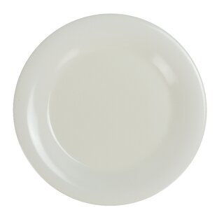 Seaford Narrow Rim Round Melamine Salad Plate (Set of 24)