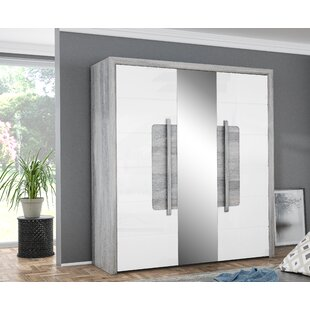 Tayfun 2 Door Sliding Wardrobe By Ebern Designs
