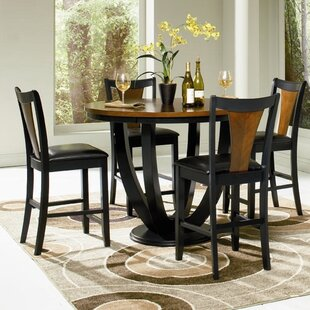 Sarris 5 Piece Dining Set by Bloomsbury M..