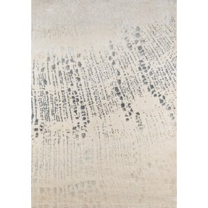 Danny Abstract Gray/Ivory Area Rug