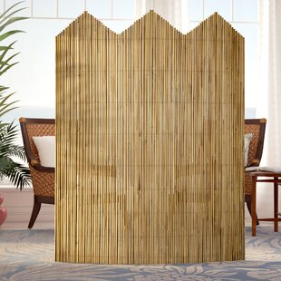 Josephine 63 X 50 Bamboo Flexible Room Divider By Beachcrest Home
