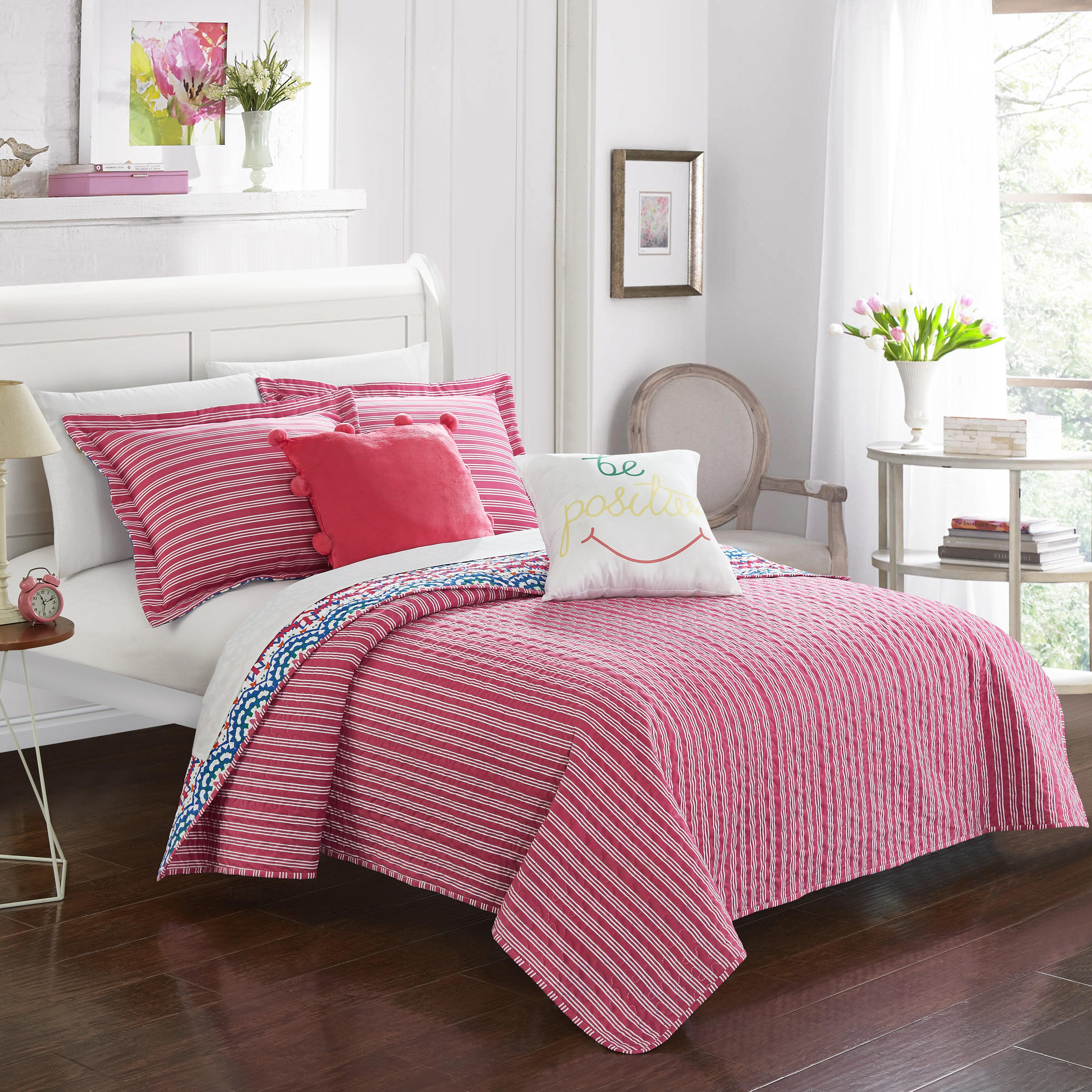 Harriet Bee Quinto Reversible Comforter Set Wayfair