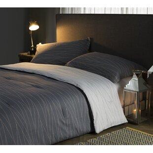Louvenia Fracture Cotton Reversible Comforter by Zipcode Design