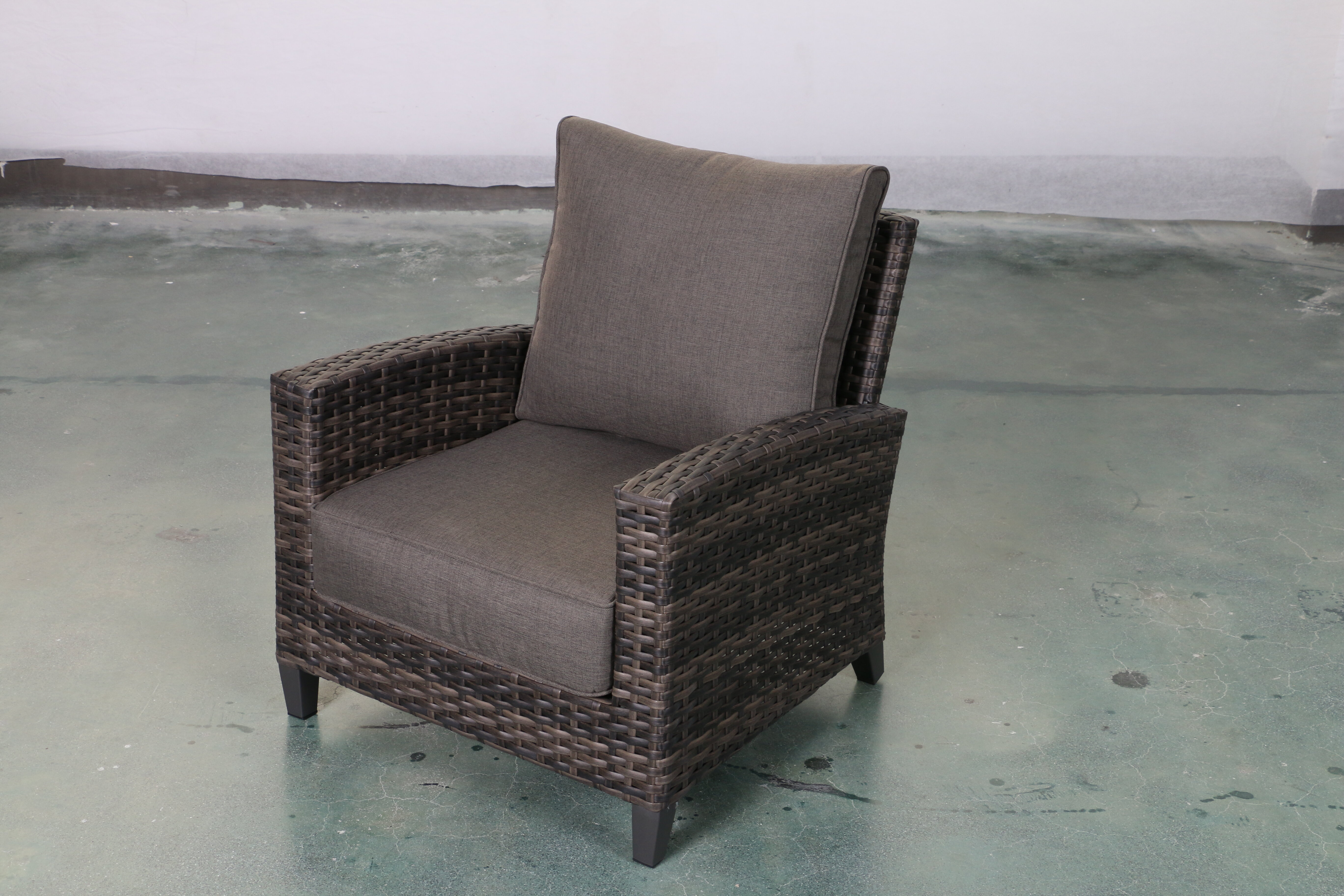 Bayou Breeze Rebeca Club Patio Chair With Cushions Wayfair