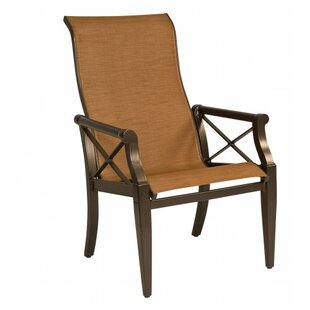 Andover Sling High-Back Patio Dining Chair