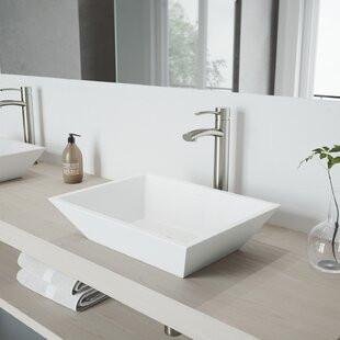 Look for Milo Single Hole Bathroom Faucet with Optional Drain Assembly By VIGO