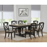 Paradiso 7 - Piece Extendable Rubber Solid Wood Dining Set by Rosalind Wheeler
