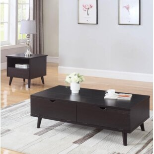 Ivy Bronx Gauvin 2 Piece Coffee Table Set