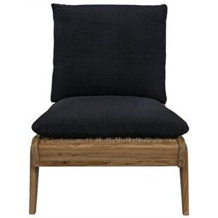 Noir Simpson Slipper Chair