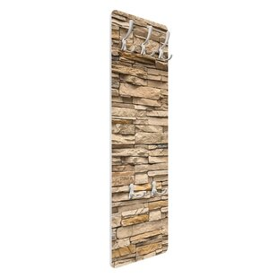 Andalusia Stonewall Wall Mounted Coat Rack By Symple Stuff