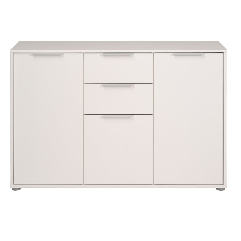 Turn on the Brights  Biffle Sideboard Color (Base/Top): White