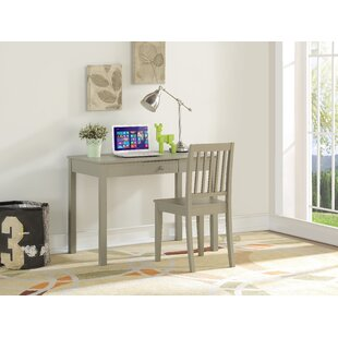 Seamon Kids 2 Piece Youth Wood Desk and Chair Set ByHarriet Bee