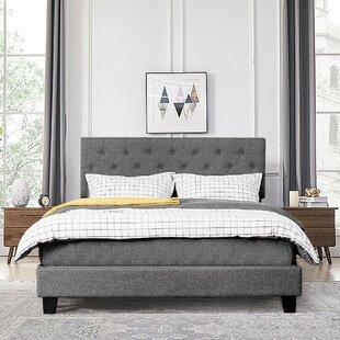 Benjammin Queen Tufted Platform Bed