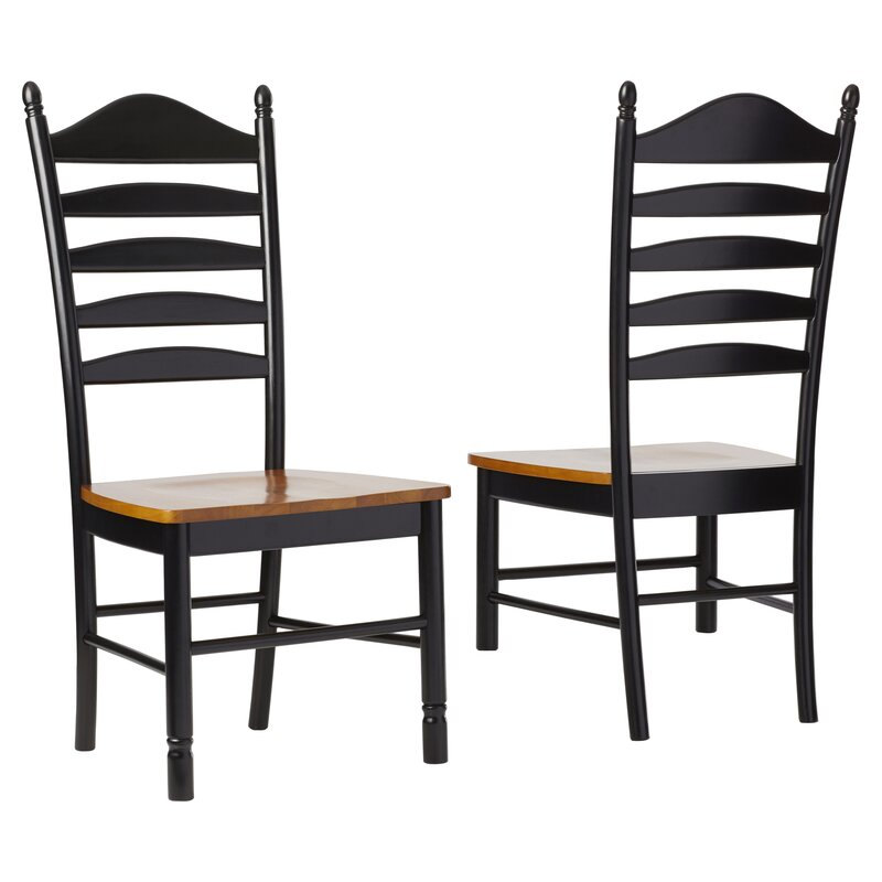 International Concepts Madison Park Ladderback Solid Wood Dining