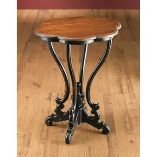 Bargain Serpentine End Table by AA Importing