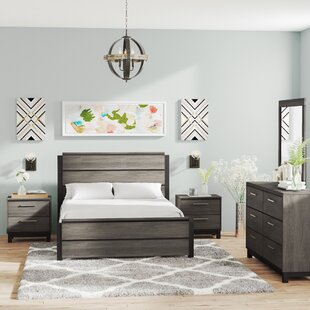 Mandy Platform 5 Piece Bedroom Set