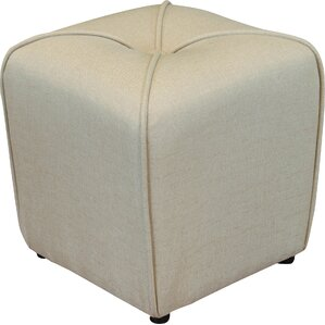 Mapletown Upholstered Ottoman by Three Posts