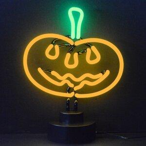 Business Signs Pumpkin Neon Sign