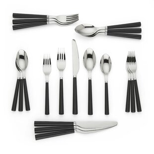All in Good Taste 20 Piece 18/10 Stainless Steel Flatware Set, Service for 4