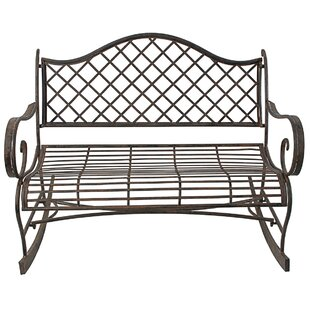 Alisz Outdoor Rocking Bench