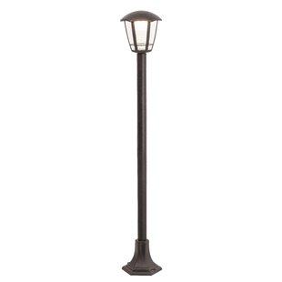 Burden 1-Light LED 100cm Post Light By Marlow Home Co.