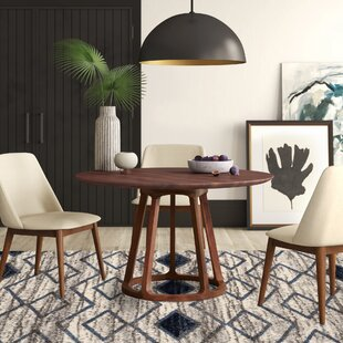 Liddle Solid Wood Dining Table by Mercury Row Wonderful