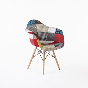 Patchwork Mid Century Armchair by Stilnovo