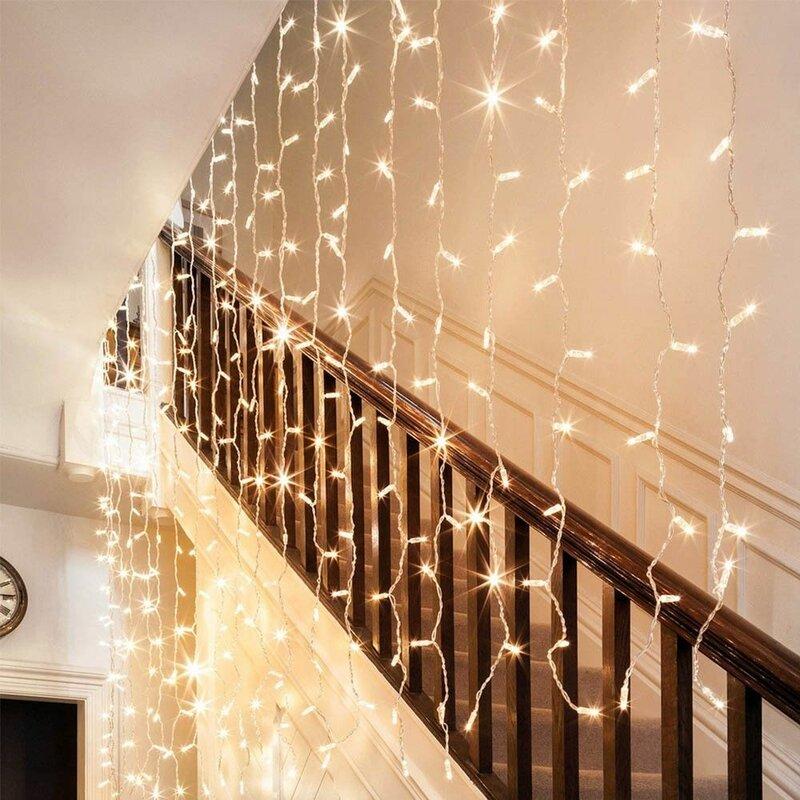The Holiday Aisle 300 Light Led String Light Reviews Wayfair