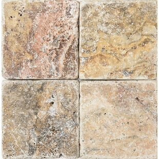 Scabos Tumbled 4 x 4 Stone Tile by Parvatile Cheap Tile