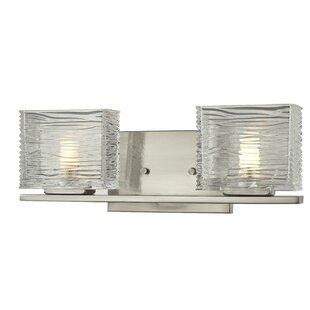 Hutton 2-Light Vanity Light by Bloomsbury Market