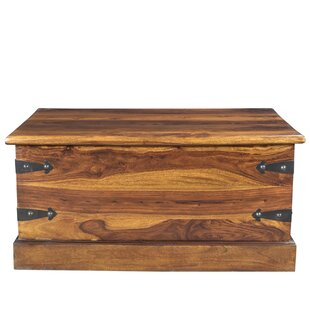 Josiah Coffee Table Trunk By Millwood Pines