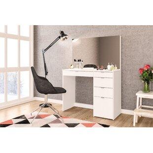 Ebern Designs Corrado Vanity with Mirror