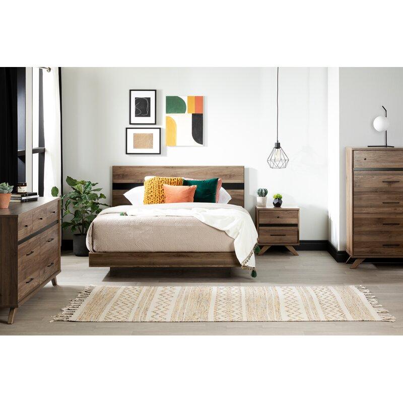 Wade Logan Prudence Queen Platform Configurable Bedroom Set Reviews Wayfair