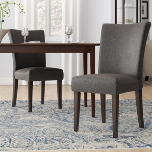 Doerr Upholstered Side Chair (Set of 2) Charlton Home