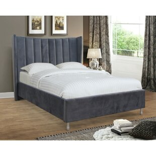 Newport Upholstered Bed Frame By Canora Grey