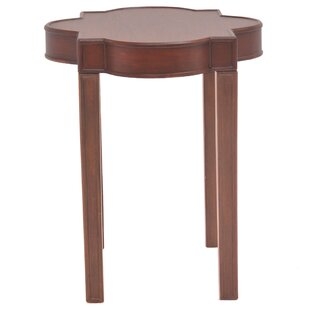 Bistort Quatrefoil End Table by Lark Manor