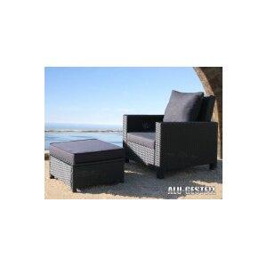 2-tlg. Verstellbares Lounge-Set Lanzarote mit Auflagen von Grasekamp