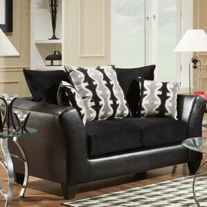 Brust Loveseat by Latitude Run