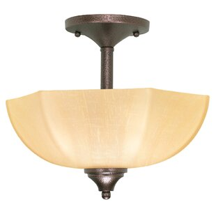 Cowen Semi Flush Mount by Winston Porter