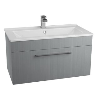 Lewes 80cm Wall Mounted Vanity Unit Base Only By Ebern Designs
