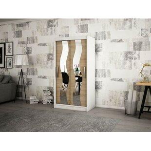 Margrete 2 Door Corner Wardrobe By Ebern Designs