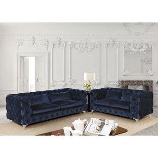Vandervoort Configurable Living Room Set by Everly Quinn