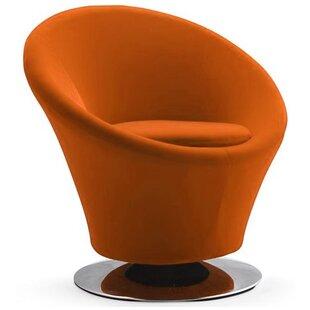 Orren Ellis Jaiden Swivel Barrel Chair