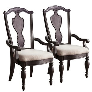 Innis Upholstered Dining Chair (Set of 2) by Alcott Hill