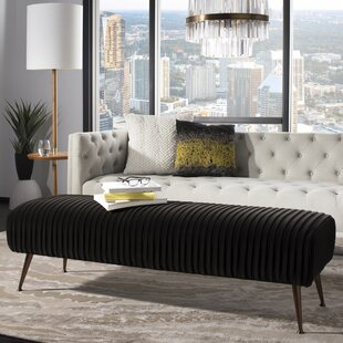 Eleonor Upholstered Bench by Everly Quinn