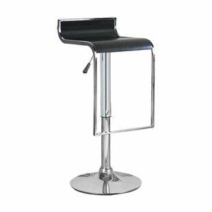 Bromi Design Hudson Adjustable Height Swivel Bar Stool