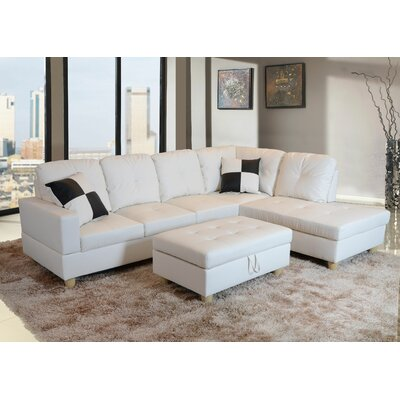 Awe Inspiring Andover Mills Russ Sectional With Ottoman Upholstery Color Alphanode Cool Chair Designs And Ideas Alphanodeonline