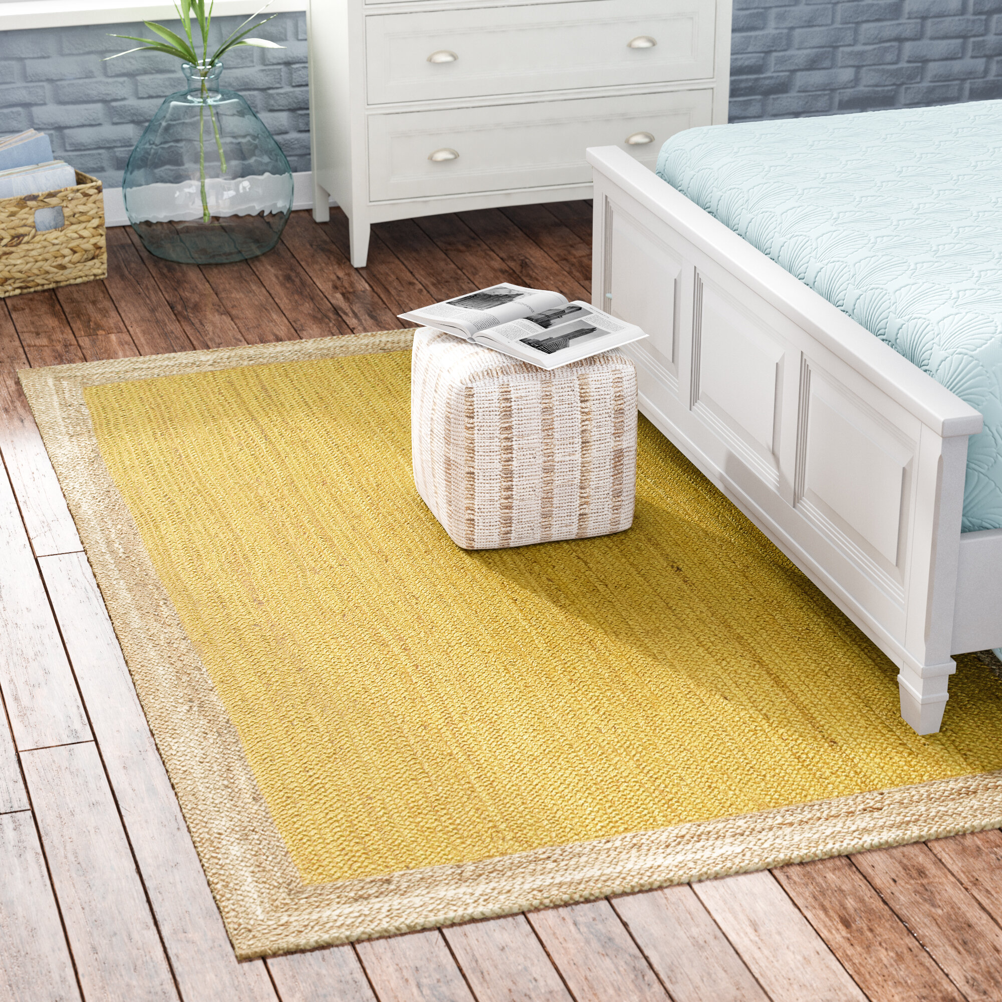 4 X 6 Yellow Gold Area Rugs You Ll Love In 2021 Wayfair