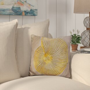 Buckelew Seashell Throw Pillow